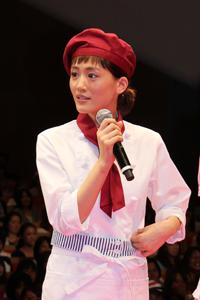 『映画 ひみつのアッコちゃん』舞台挨拶 綾瀬はるか