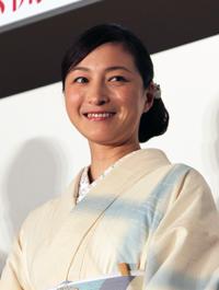 映画『柘榴坂の仇討』プレミアム試写会舞台挨拶、広末涼子