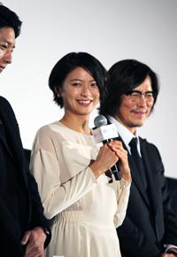 映画『娚の一生』先行上映イベント、榮倉奈々