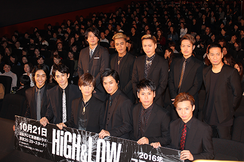 『HiGH&LOW ~THE STORY OF S.W.O.R.D.~』EXILE TRIBE
