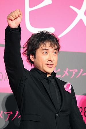 映画『ヒメアノ〜ル』舞台挨拶付きジャパンプレミア、ムロツヨシ