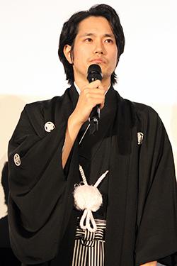 映画『聖の青春』完成披露試写会、松山ケンイチ