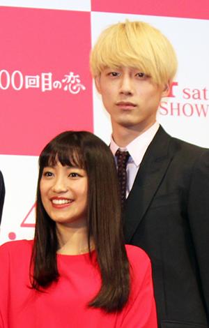 『君と100回目の恋』完成披露舞台挨拶、miwa、坂口健太郎