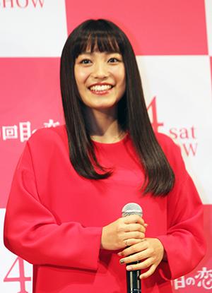 『君と100回目の恋』完成披露舞台挨拶、miwa