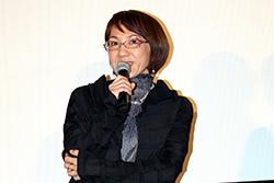 『彼らが本気で編むときは、』完成披露舞台挨拶、荻上直子監督