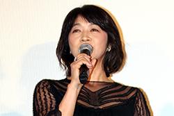 『彼らが本気で編むときは、』完成披露舞台挨拶、田中美佐子