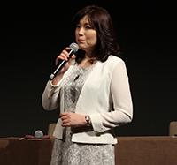 『孤狼の血』製作発表会見、柚月裕子(原作者)