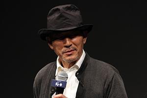 『武曲 MUKOKU』完成披露舞台挨拶、小林薫