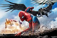 映画『スパイダーマン:ホームカミング』トム・ホランドほか