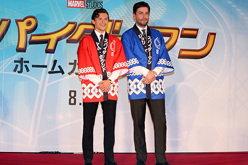 映画『スパイダーマン:ホームカミング』来日ジャパンプレミア、トム・ホランド、ジョン・ワッツ監督