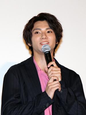 映画『あゝ、荒野』完成披露舞台挨拶、山田裕貴