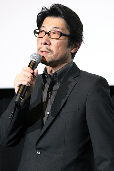 映画『エルネスト』試写イベント舞台挨拶、阪本順治監督