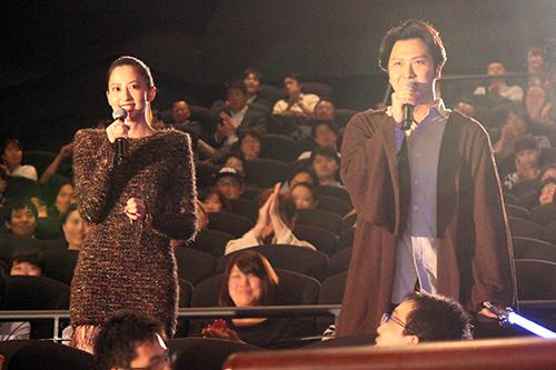 映画『スター・ウォーズ/最後のジェダイ』スペシャル・ファンミーティング、ライアン・ジョンソン監督、尾上松也、河北麻友子