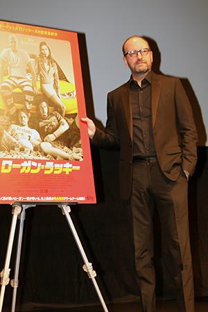 映画『ローガン・ラッキー』第30回東京国際映画祭舞台挨拶、スティーヴン・ソダーバーグ