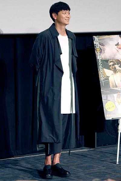 映画『MASTER/マスター』来日舞台挨拶、カン・ドンウォン