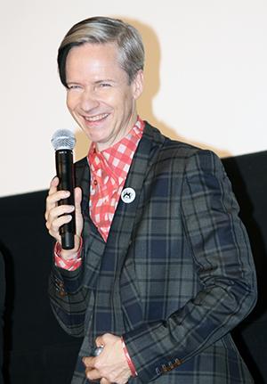 映画『パーティで女の子に話しかけるには』来日舞台挨拶、ジョン・キャメロン・ミッチェル監督