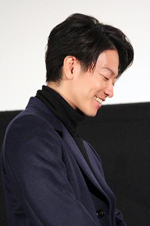 映画『8年越しの花嫁 奇跡の実話』大ヒット舞台挨拶、佐藤健