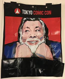 【東京コミコン2017】オープニングイベント、来場者プレゼントのバッグ