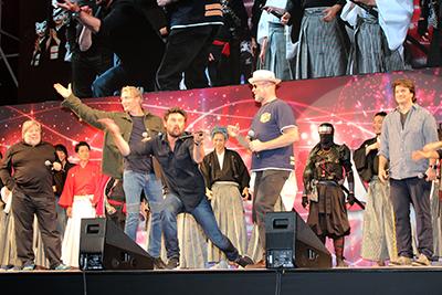 【東京コミコン2017】グランドフィナーレ、スティーブ・ウォズニアック、マッツ・ミケルセン、カール・アーバン、ネイサン・フィリオン、マイケル・ルーカー