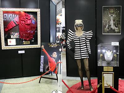 【東京コミコン2017】マイケル・ジャクソン、レディ・ガガが着用した衣装