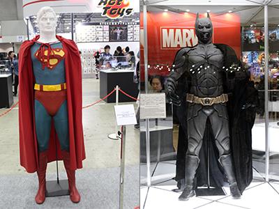 【東京コミコン2017】映画『スーパーマンⅢ』でクリストファー・リーヴが着用/『ダークナイト ライジング』にてクリスチャン・ベールが着用