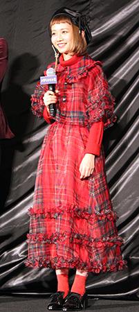 映画『パディントン2』日本語吹き替え版完成披露舞台挨拶、松坂桃李、古田新太、三戸なつめ、斎藤工