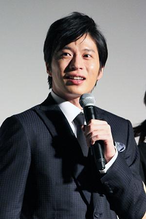 映画『伊藤くん A to E』完成披露舞台挨拶、田中圭