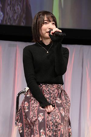 映画『GODZILLA 決戦機動増殖都市』AnimeJapan2018スペシャルステージ、上田麗奈