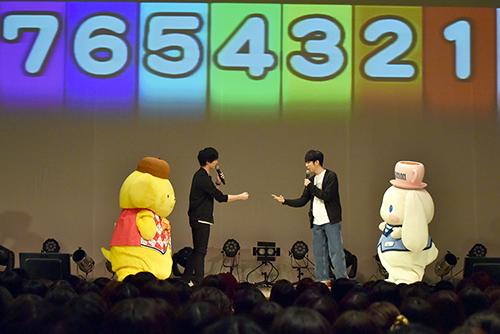 TVアニメ『学園ベビーシッターズ』キャストイベント、西山宏太朗、梅原裕一郎/シナモロール、ポムポムプリン