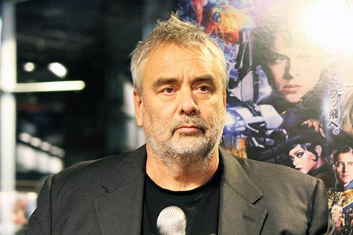 映画『ヴァレリアン 千の惑星の救世主』来日記念トークショー、リュック・ベッソン監督