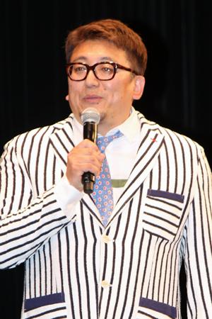 映画『50回目のファーストキス』完成披露試写会舞台挨拶、福田雄一監督