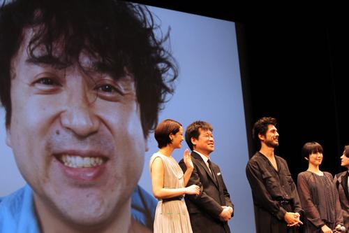 映画『50回目のファーストキス』完成披露試写会舞台挨拶、ムロツヨシ(ビデオメッセージ)