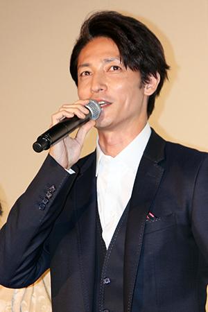 映画『ラブ×ドック』公開記念舞台挨拶、玉木宏