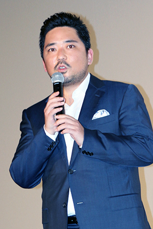 映画『ラブ×ドック』公開記念舞台挨拶、篠原篤
