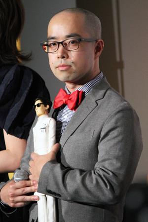 映画『犬ヶ島』来日舞台挨拶、伊藤晃