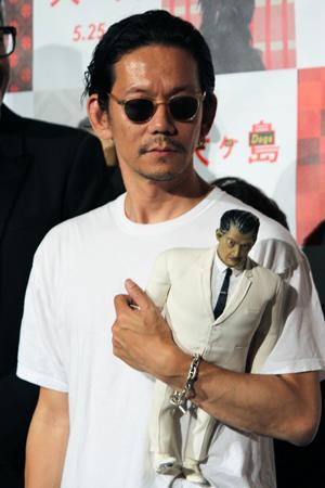 映画『犬ヶ島』来日舞台挨拶、野村訓一