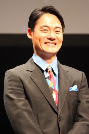 映画『パンク侍、斬られて候』公開記念舞台挨拶、近藤公園