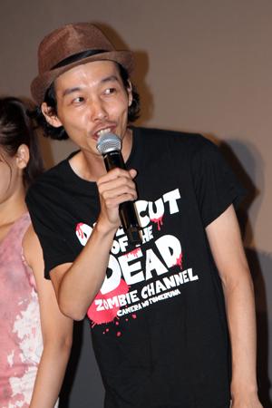 映画『カメラを止めるな!』感染拡大公開御礼舞台挨拶:上田慎一郎監督
