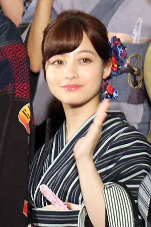 映画『銀魂2 掟は破るためにこそある』完成披露試写会舞台挨拶:橋本環奈