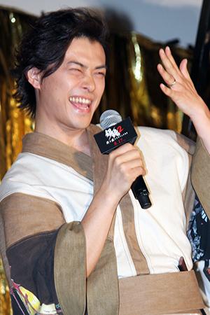 映画『銀魂2 掟は破るためにこそある』完成披露試写会舞台挨拶:勝地涼
