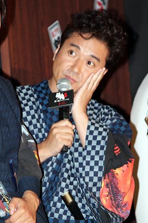 映画『銀魂2 掟は破るためにこそある』完成披露試写会舞台挨拶:ムロツヨシ