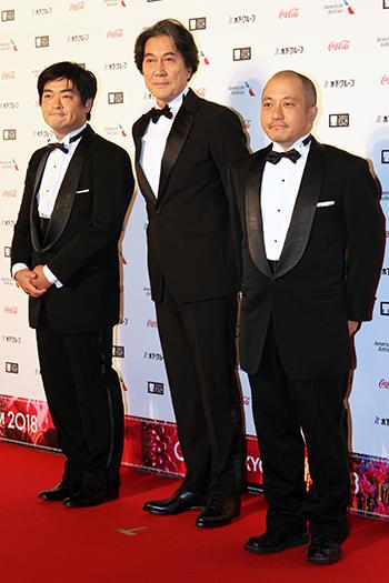 第31回東京国際映画祭:Japan Now部門 役所広司/白石和彌監督/沖田修一監督