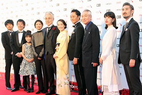 第31回東京国際映画祭:『漫画誕生』イッセー尾形/モロ師岡/篠原ともえ ほか