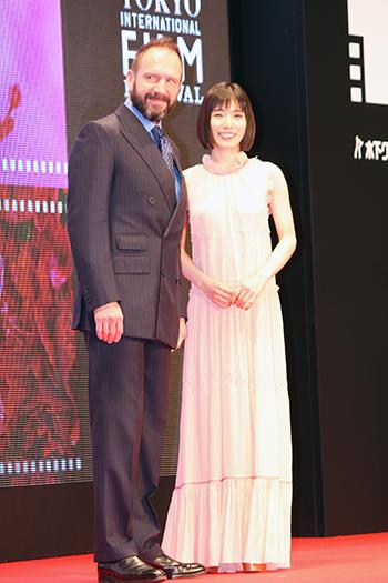第31回東京国際映画祭:『ホワイト・クロウ』レイフ・ファインズ/アンバサダー松岡茉優