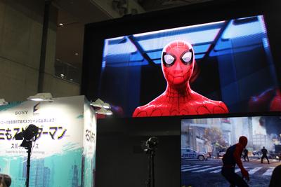 """東京コミコン2018:ゲーム""""スパイダーマン""""PS4"""