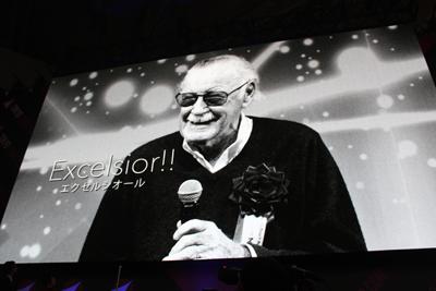 東京コミコン2018:スタン・リーの追悼ムービー