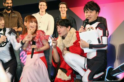 東京コミコン2018:エズラ・ミラー、中川翔子