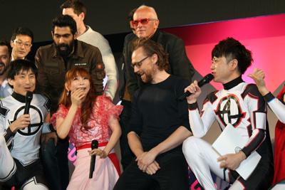 東京コミコン2018:トム・ヒドルストン、中川翔子