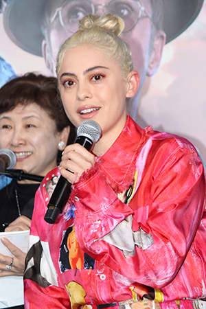 映画『アリータ:バトル・エンジェル』来日記者会見:ローサ・サラザール(主人公アリータ役)