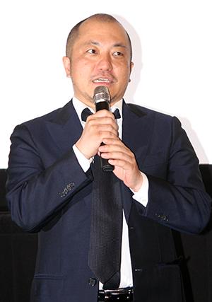 "映画『麻雀放浪記2020』完成披露試写""しない""舞台挨拶:白石和彌監督"